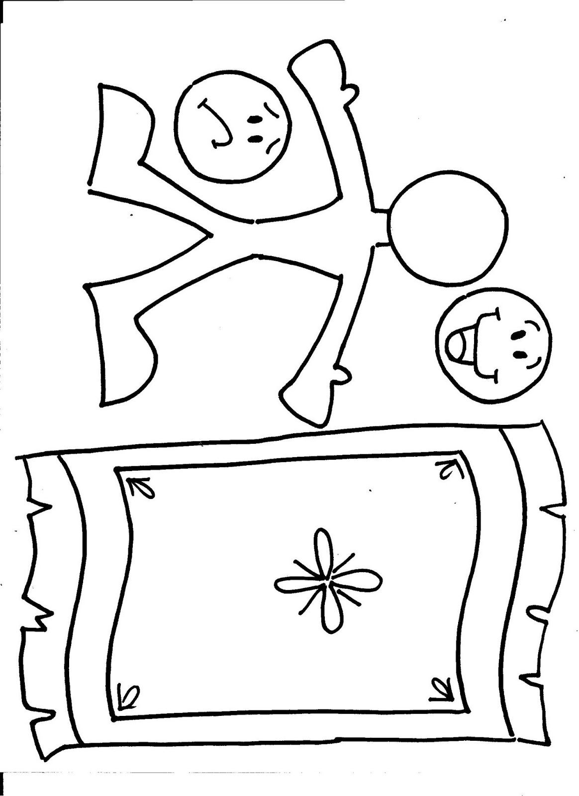 Clip Art Jesus Heals The Paralytic Coloring Page 1000 images about jesus heals the paralyzed man on pinterest craft roof and crafts