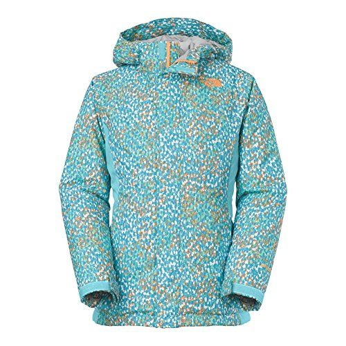ac1e455f6c3f The North Face Delea Insulated Jacket Girls Fortuna Blue Scatter ...