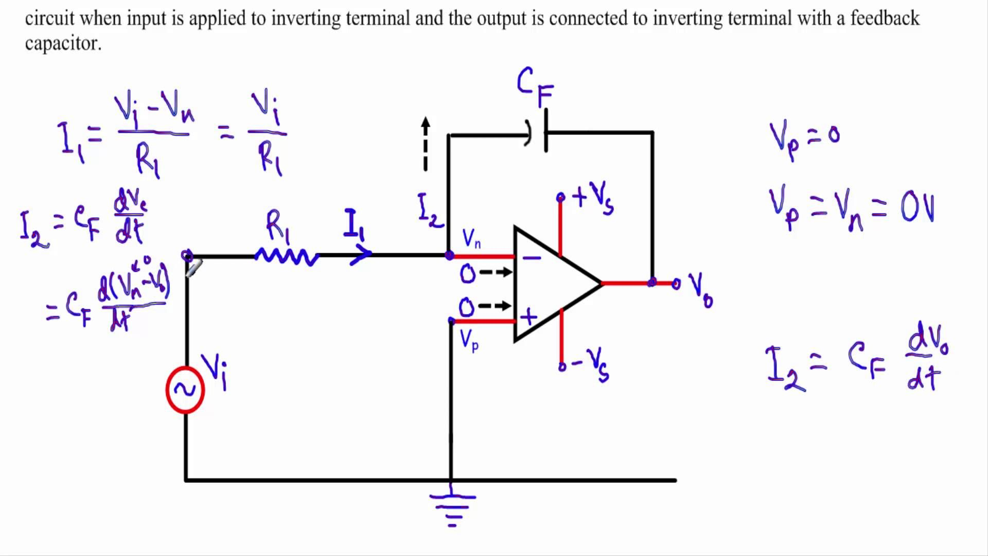 Op Amp Integrator Circuit Electronics Opamp Pinterest Tl082 Dual Operational Amplifier Schematic