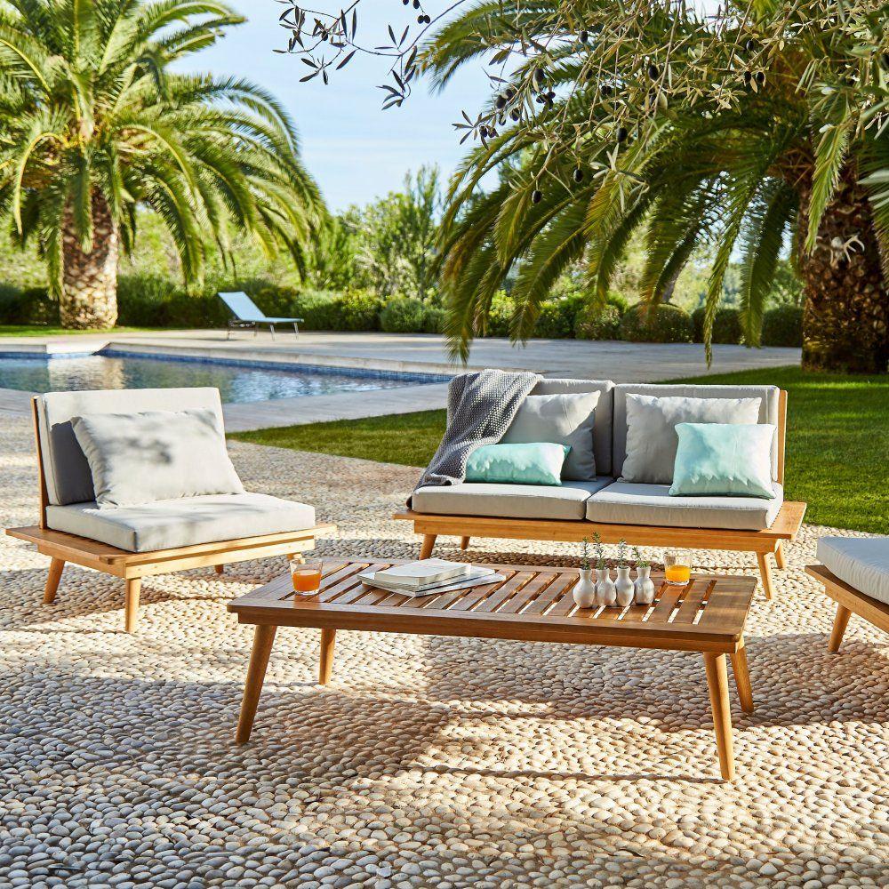 Salon de jardin en bois : l\'indémodable qu\'on adore ! | Décoration ...