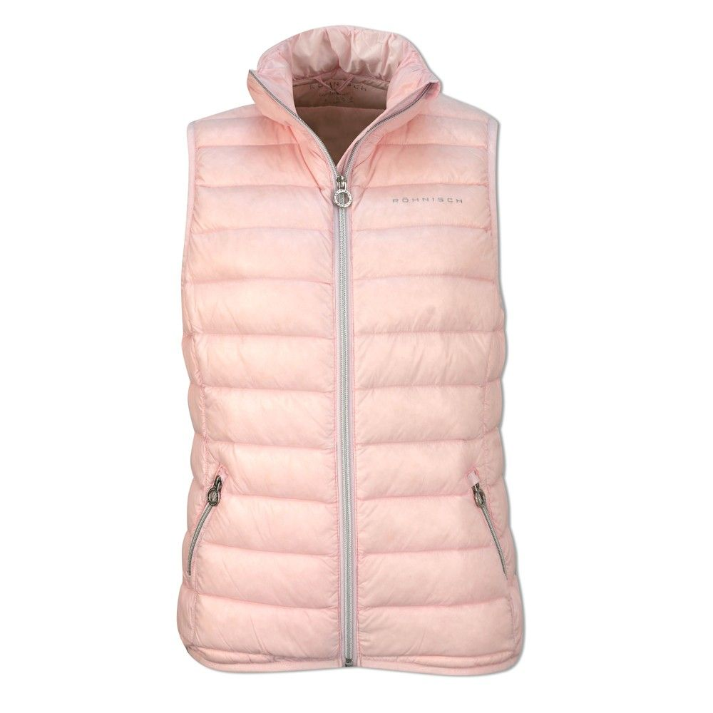 Rohnisch Light Down Vest 36 - Ice Pink - with Free Delivery  91dd313fdebf