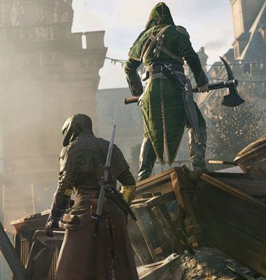 Assassin S Creed Unity Green Character Google Search Assassins