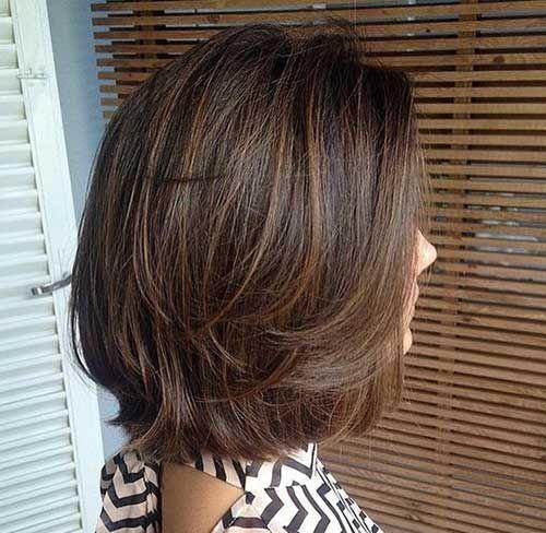Photo of Am meisten bevorzugte kurze geschichtete Haarschnitte