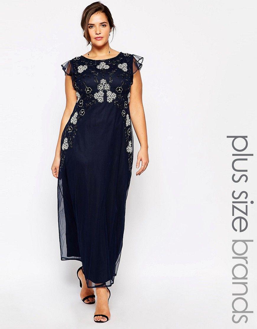 ed61ab9737 Image 1 of Lovedrobe Luxe Embellished Maxi Dress | nunta | Dresses ...