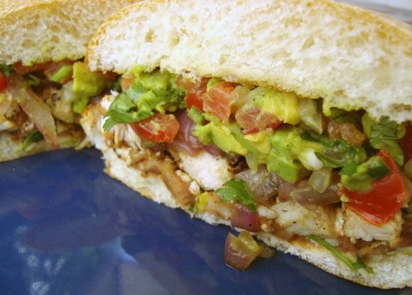 Grilled Chicken Torta from Average Betty
