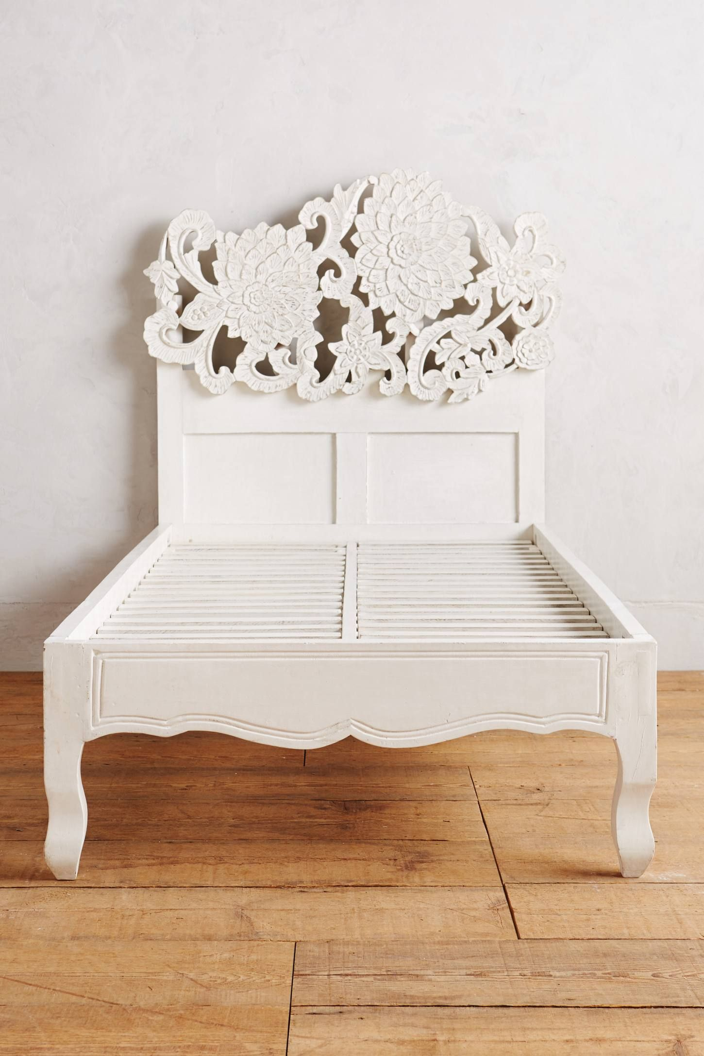 Handcarved Lotus Bed | Bedrooms | Pinterest