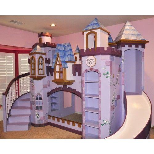 Best Amaya Castle Bunk Bed Castle Bed Kid Beds Princess 640 x 480
