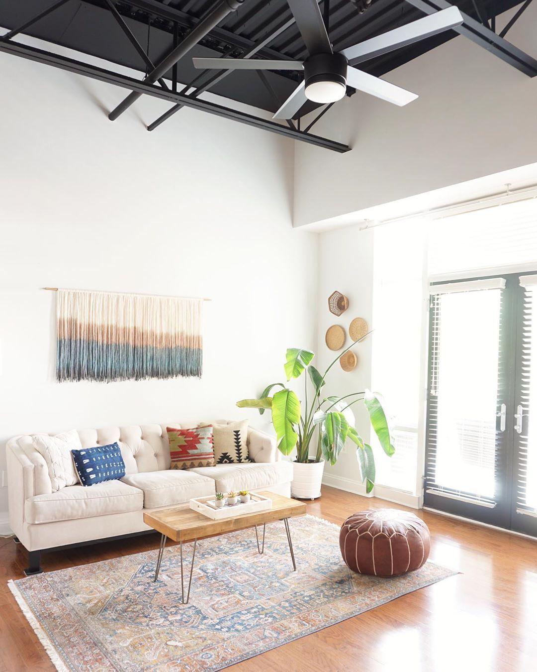 A Cool Interior Design Ceiling Living Room Design Theboholoft