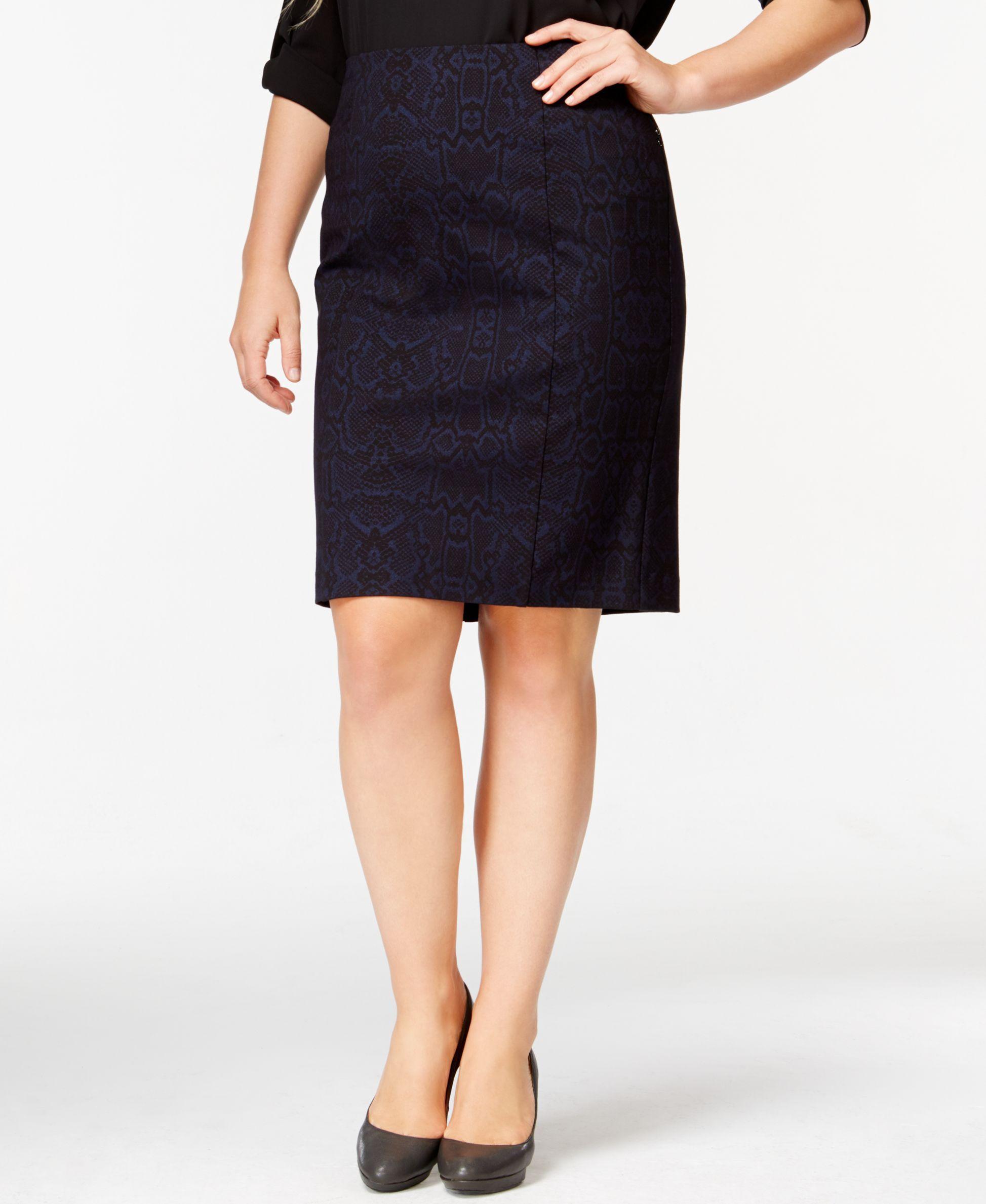 Plus Size Skirts At Macys | Huston Fislar Photography