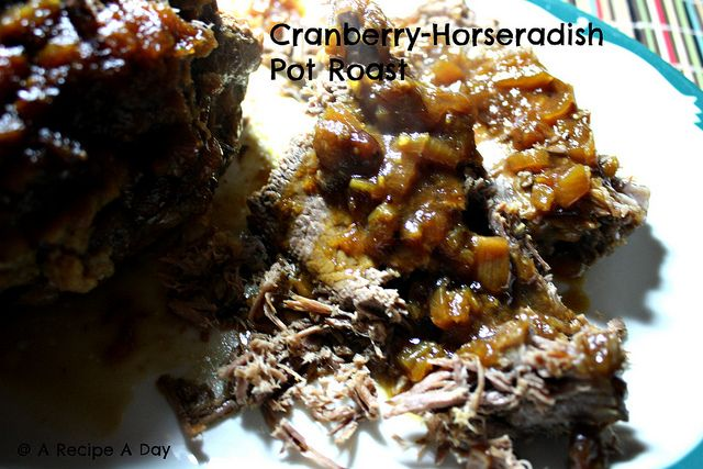 Cranberry Pot Roast by A Recipe A Day, via Flickr
