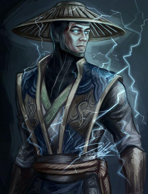 Liu Kang Tattoo: Raiden - Mortal Kombat Kollective