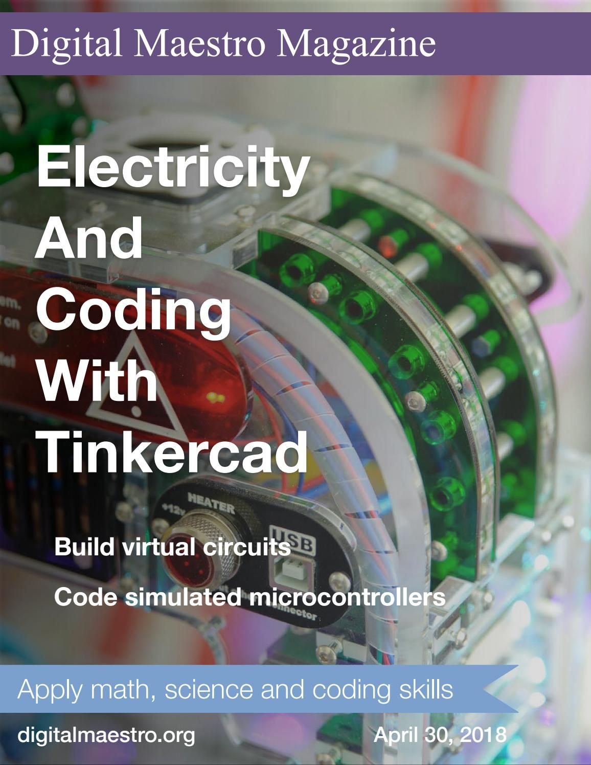 Electricity and Coding with Tinkercad | Arduino | Circuit basics