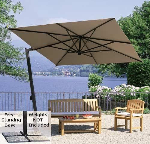 Great Free Standing Umbrellas For Patio