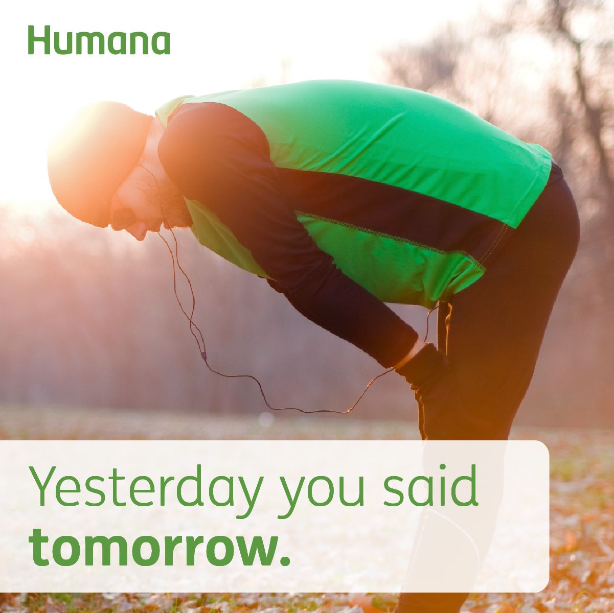 Yesterday You Said Tomorrow Humana Fitness Motivation Fit