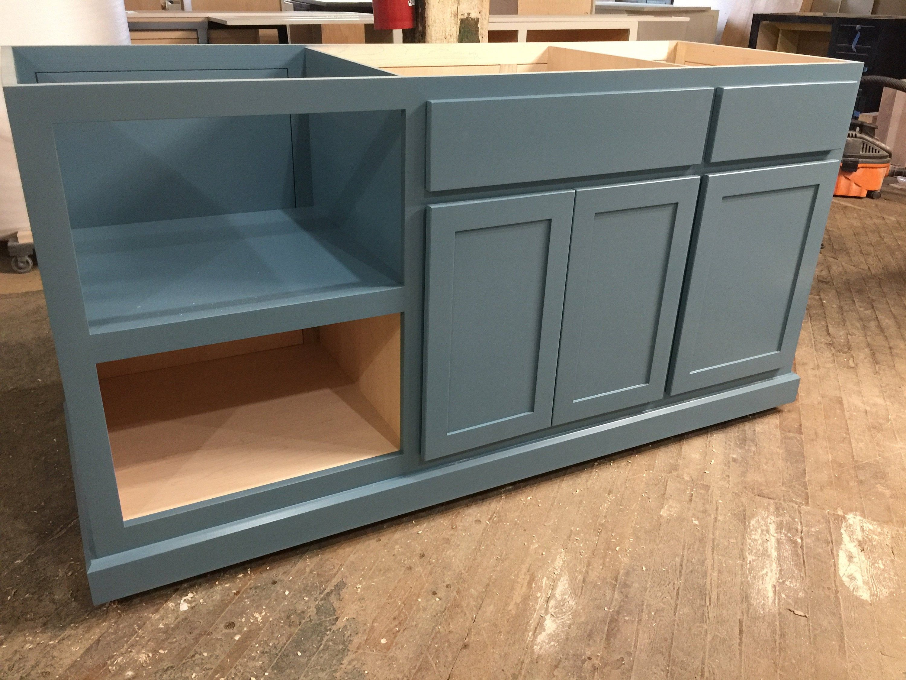 Ready To Ship Custom Kitchen Island In