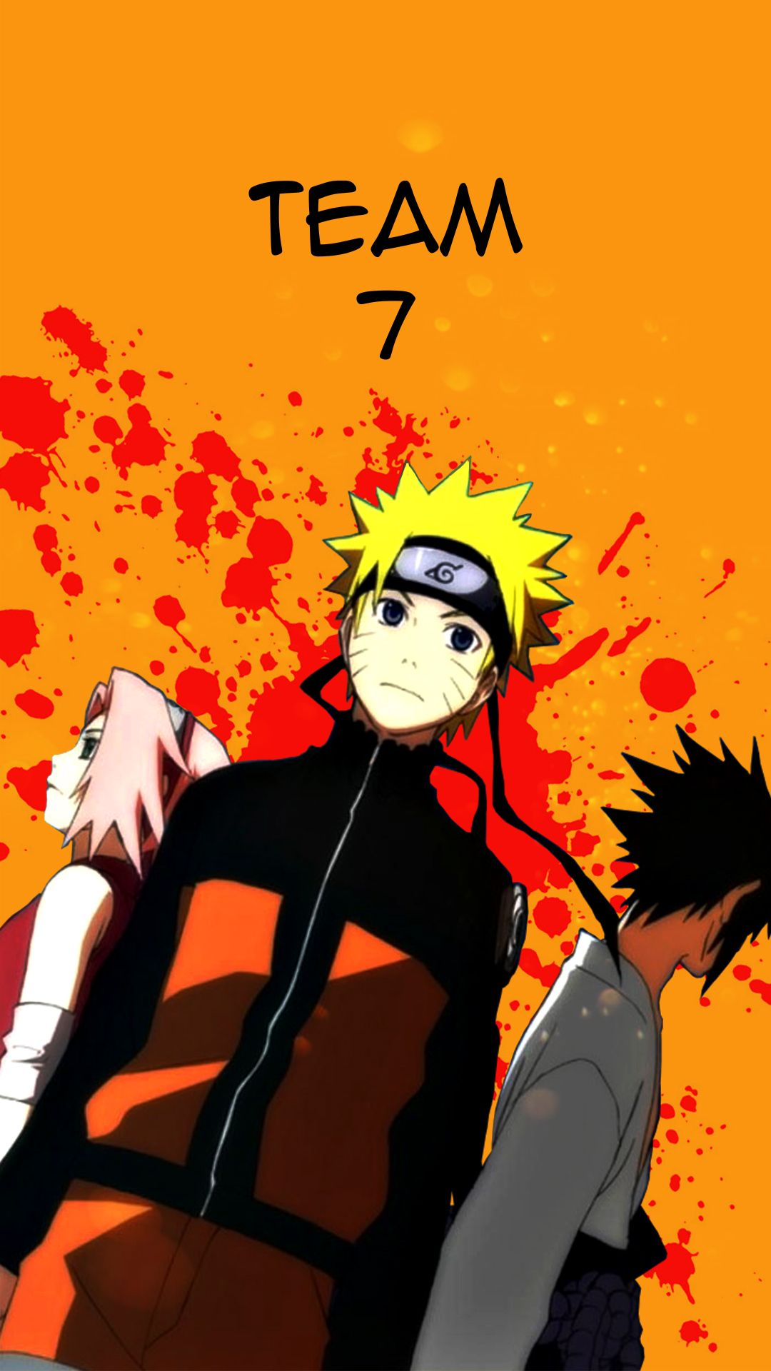 Team 7 Naruto Shippuden Anime Wallpaper Anime Wallpaper