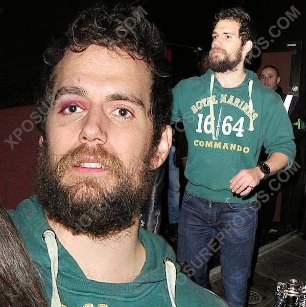 New Weekend Pics Of Henry Leaving London Club With Friends Henry