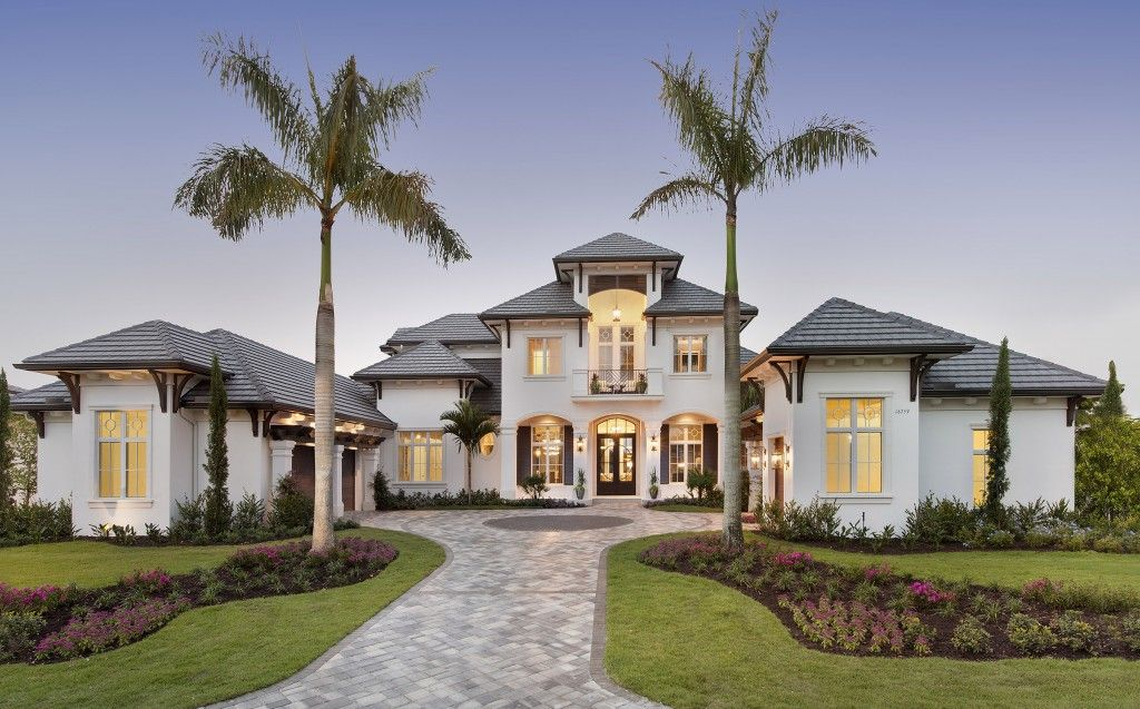 Transitional Coastal Contemporary Style Architectural Design Built In Talis  Park, Naples, Florida Featured As 2015 Golf Magazine Dream Home, By Weber  Design ...