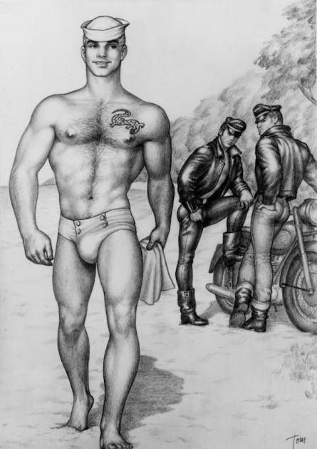 Gay slave drawings