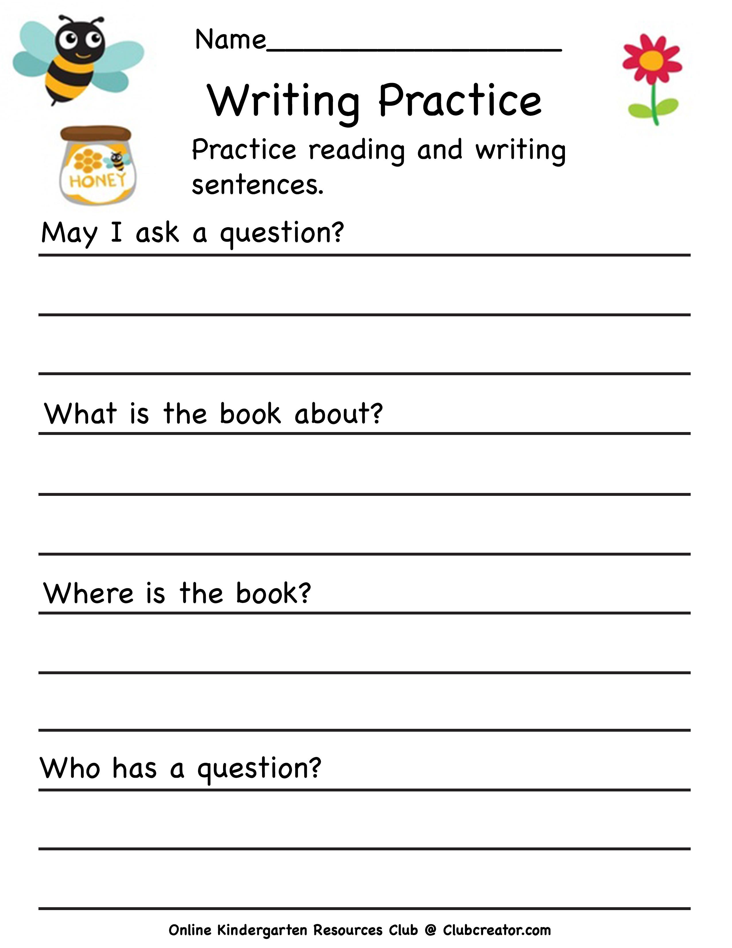 Questions Worksheet In