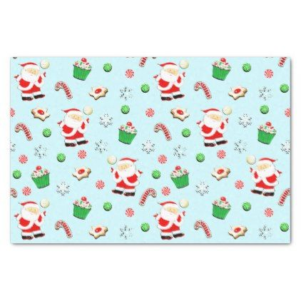 volleyball christmas tissue paper christmas craft supplies cyo merry xmas santa claus family holidays
