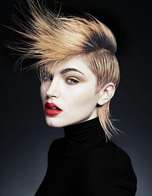 Mohawk Lange Haare Manner Frauen Frisuren Frisuren 2014
