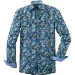 Photo of Olymp casual shirt, modern fit, kent, green, xxl olympymp