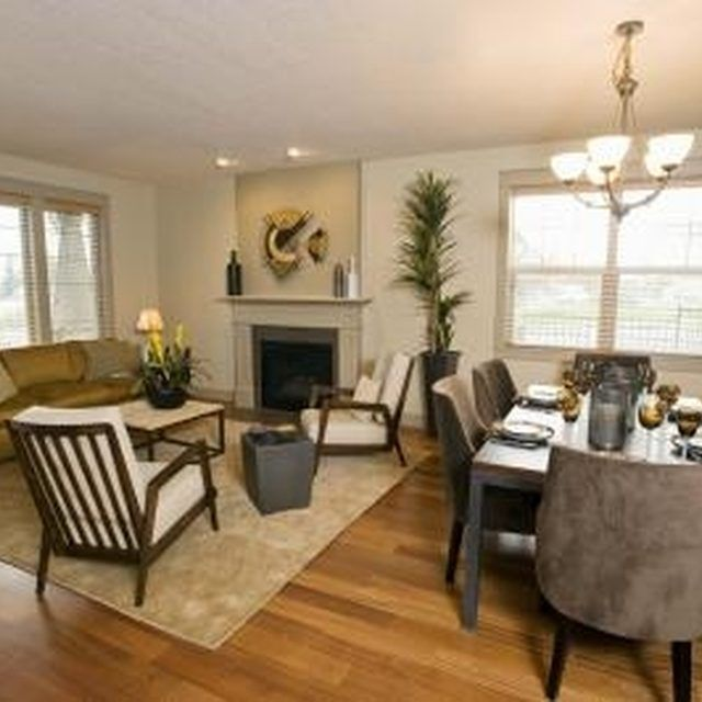 Decorate Living Room And Dining Room Combo: Rearrange An Awkward Room For Harmonious Flow.