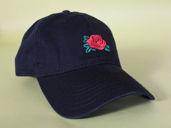 cb9eaf8220f NEW Rose Dad Hat Baseball Cap low profile 100 % by BrainDazed