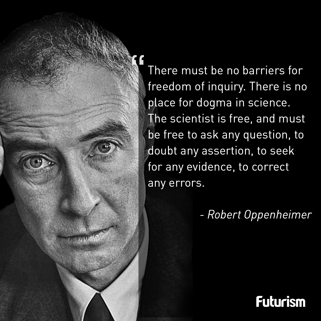 Oppenheimer Quote Fascinating Oppenheimer  Zitate  Pinterest  Futurism