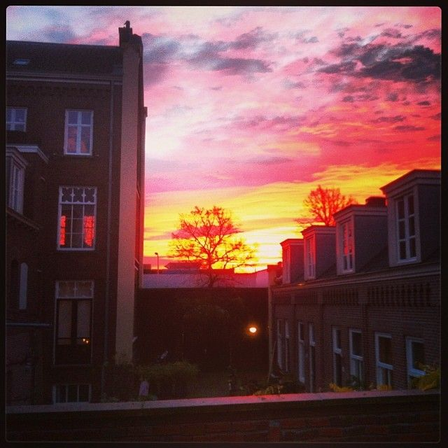 Look at that sky! #Utrecht - Submitted by Maurice Hengeveld
