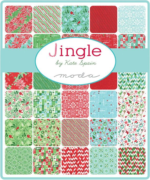 Jingle Layer Cake Kate Spain For Moda 10 Inch Precut Etsy Precut Fabric Squares Precut Fabric Patchwork Fabric