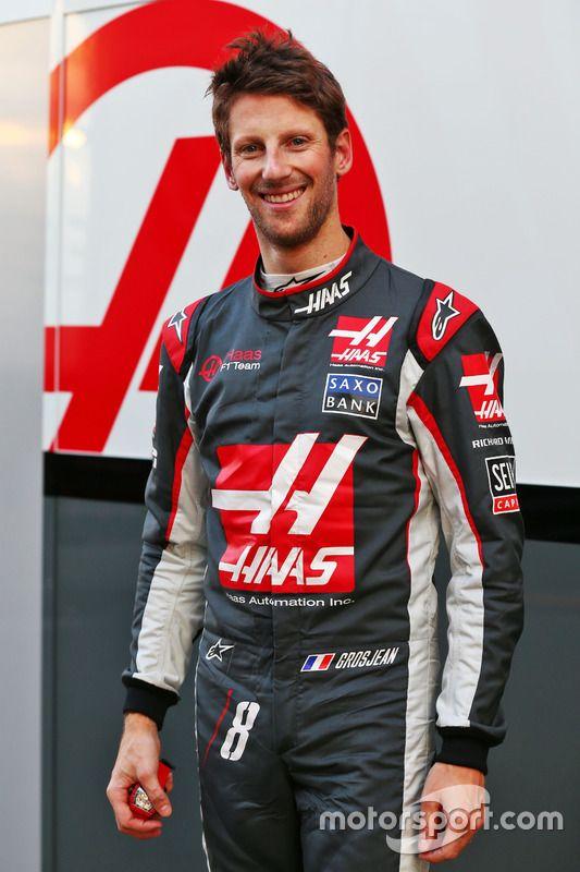 Romain Grosjean Haas F1 Team Formula1 Formulaone Haas F1 Cars Sportscars Racing Racingcars Racinggames Spo Haas F1 Team Romain Grosjean Racing Suit