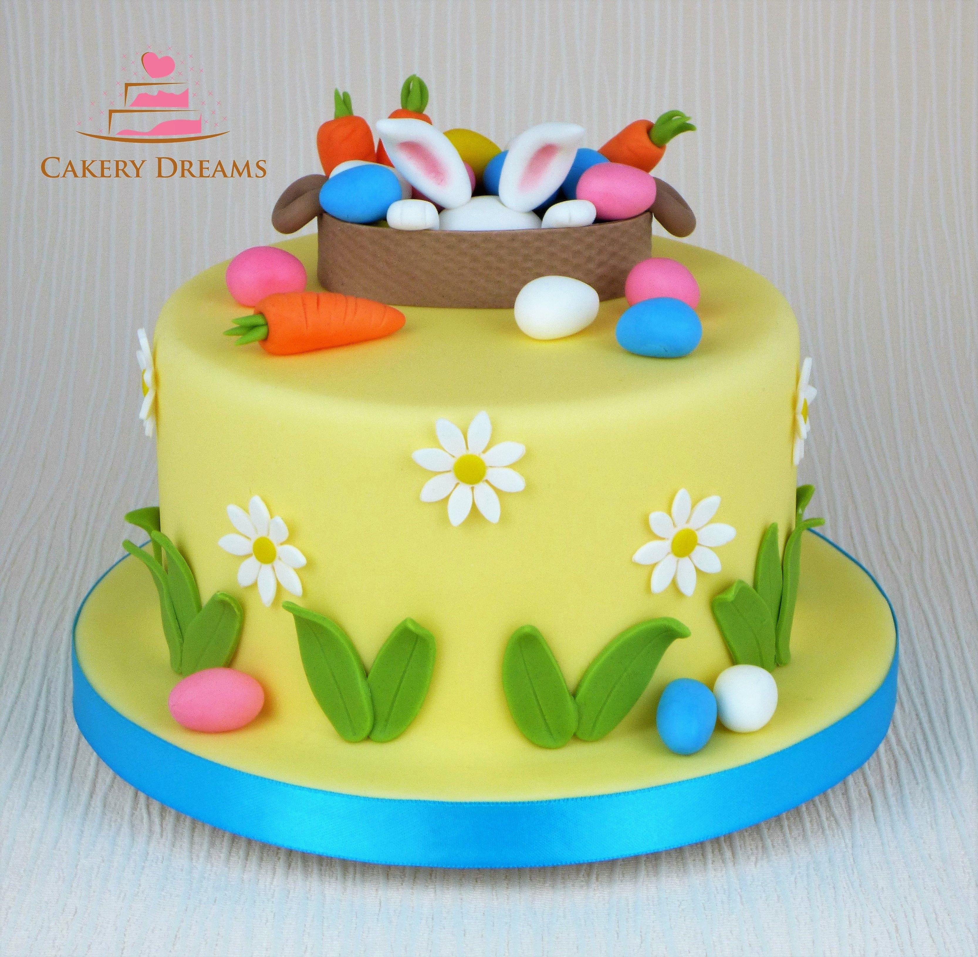 Easter Cake Cake Easter Fondant Cakedekoration Torten Cakedesign Cakedecorating Torten Easter Bolo Mit Bildern Motivtorten Ostern Osterkuchen Tortendeko