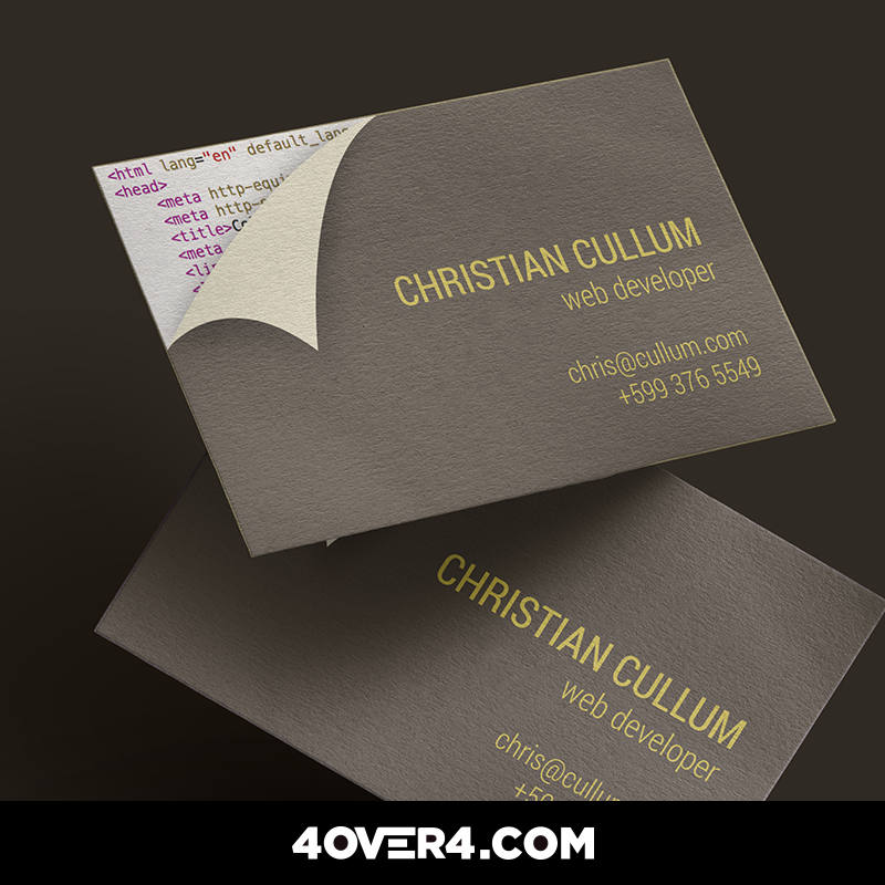 design and print your own business cards business cards