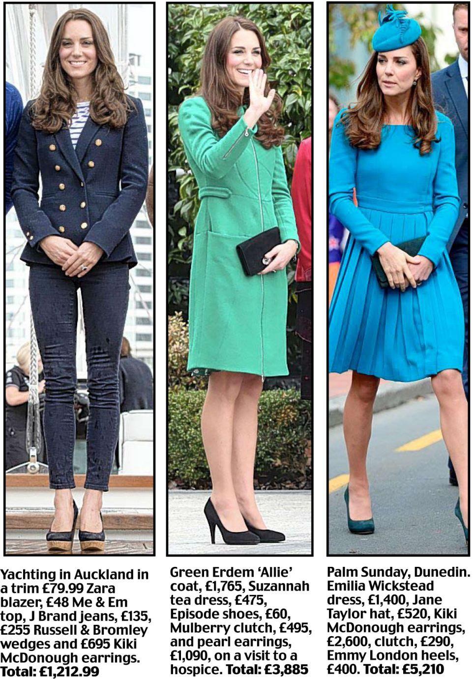 db314634c3c9d Kate's £50,000 fashion show: The verdict on Duchess of Cambridge's style on  tour down under | Mail Online