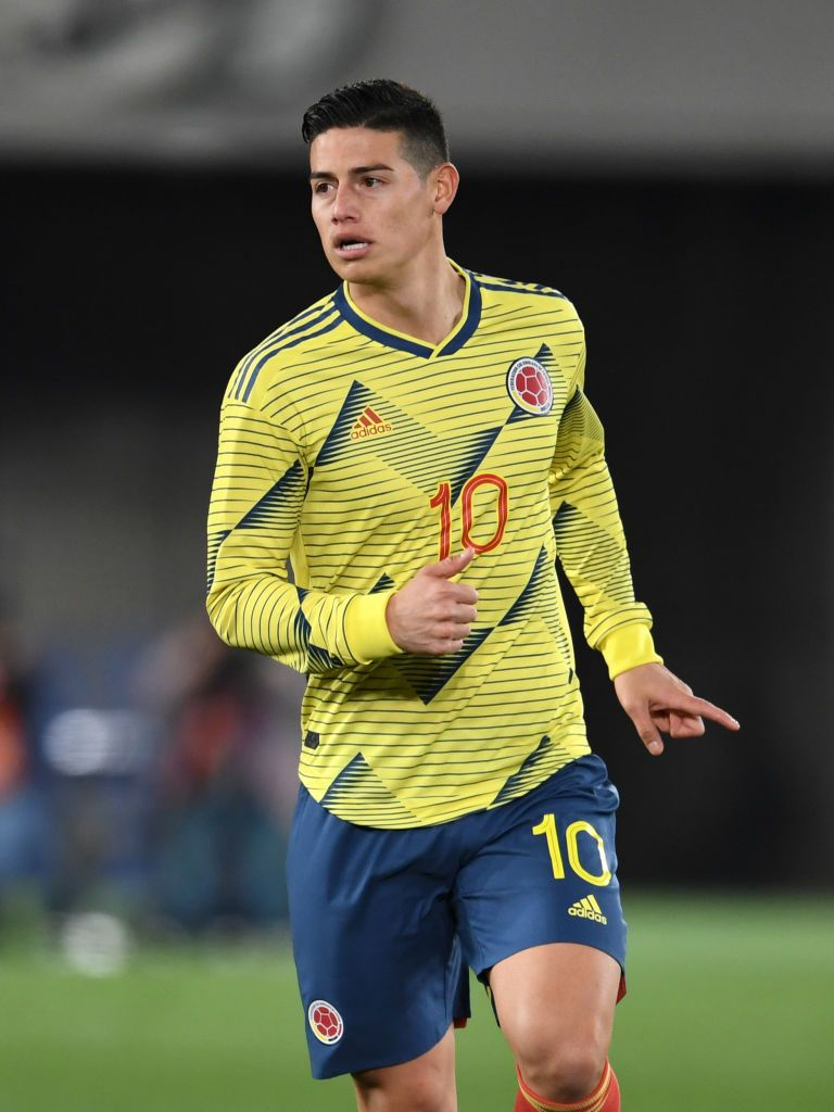 James Rodriguez Of Colombia In Action During The International James Rodriguez James Rodriguez Colombia Colombia