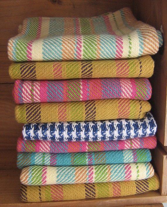 Handwoven cotton tea towels home kitchen delights for La kitchen delight