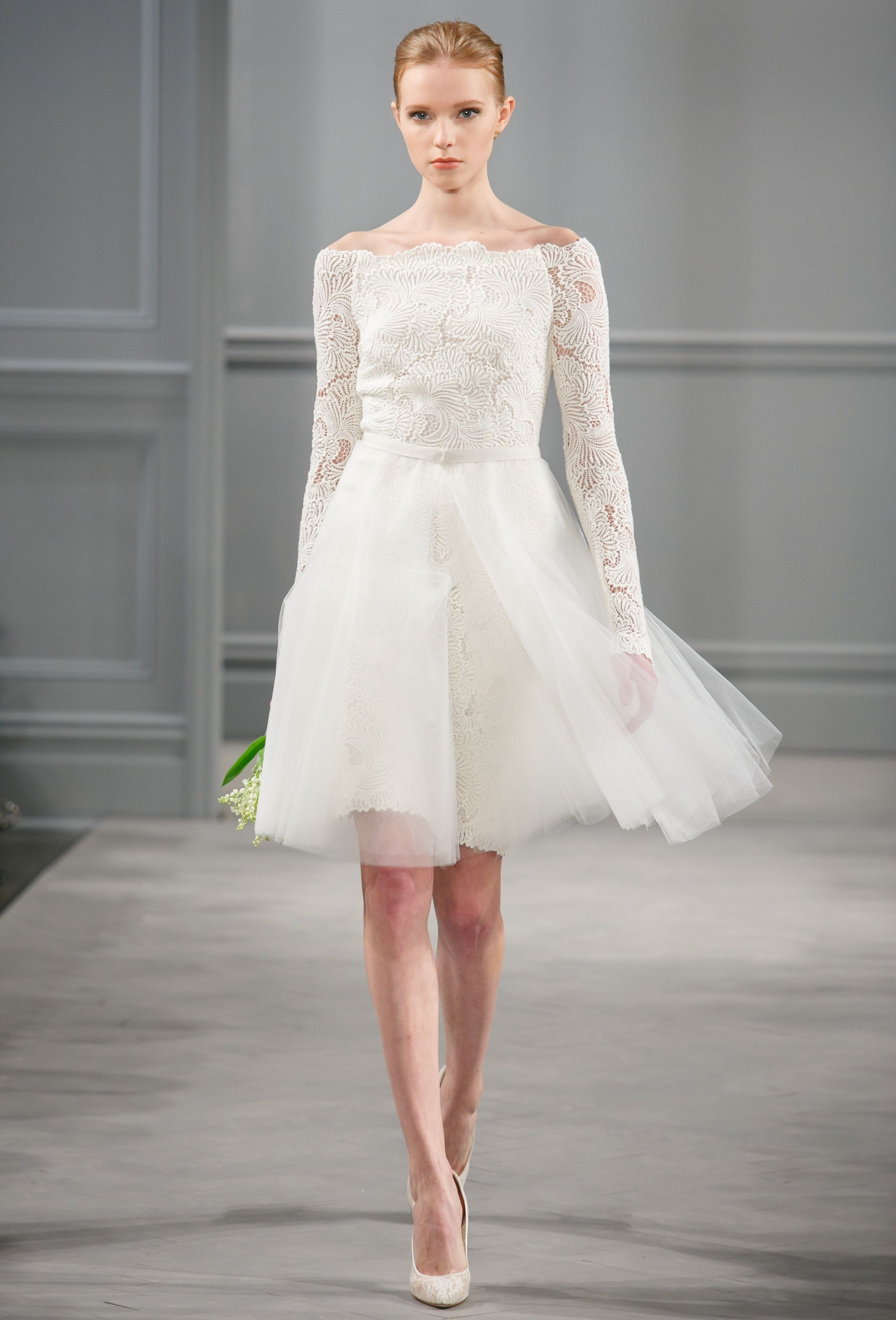 Monique Lhuillier Spring 2014 By Syphotography Wedding Dress In