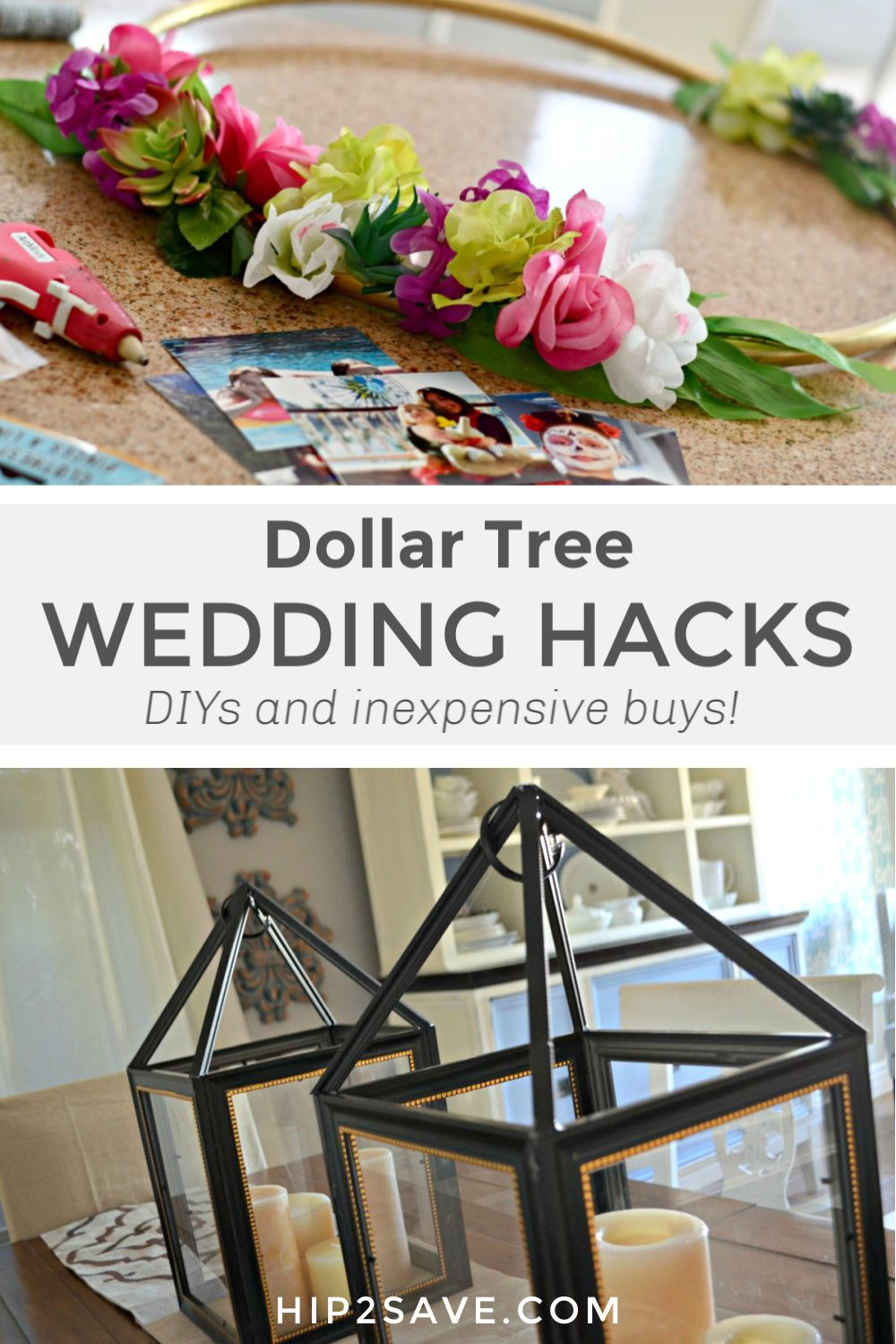 With our Dollar Tree wedding hacks, you can pull off a beautiful wedding  without br… in 2020 | Dollar tree diy wedding, Dollar tree wedding  decorations, Dollar tree wedding