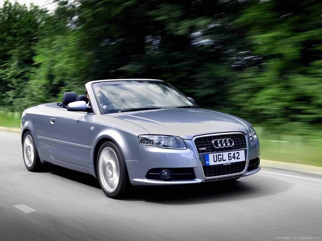 Audi a4 convertible html