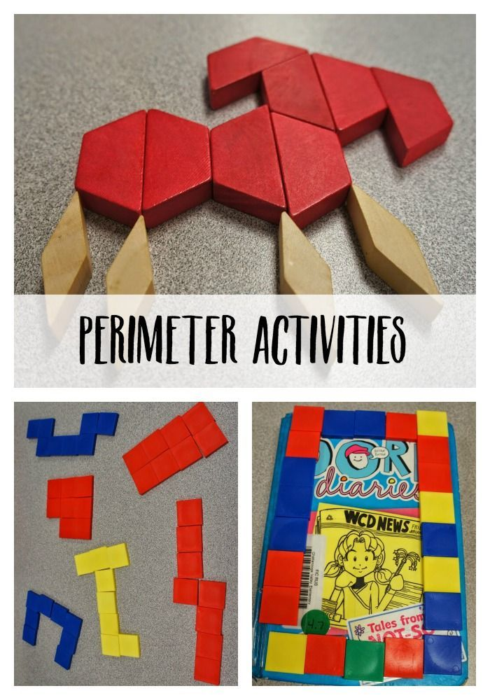 These hands-on perimeter activities are a great way to teach for ...