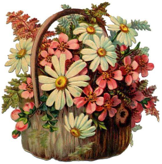 Blumenkörbe I - flower basket I - paniers de fleurs (With ...