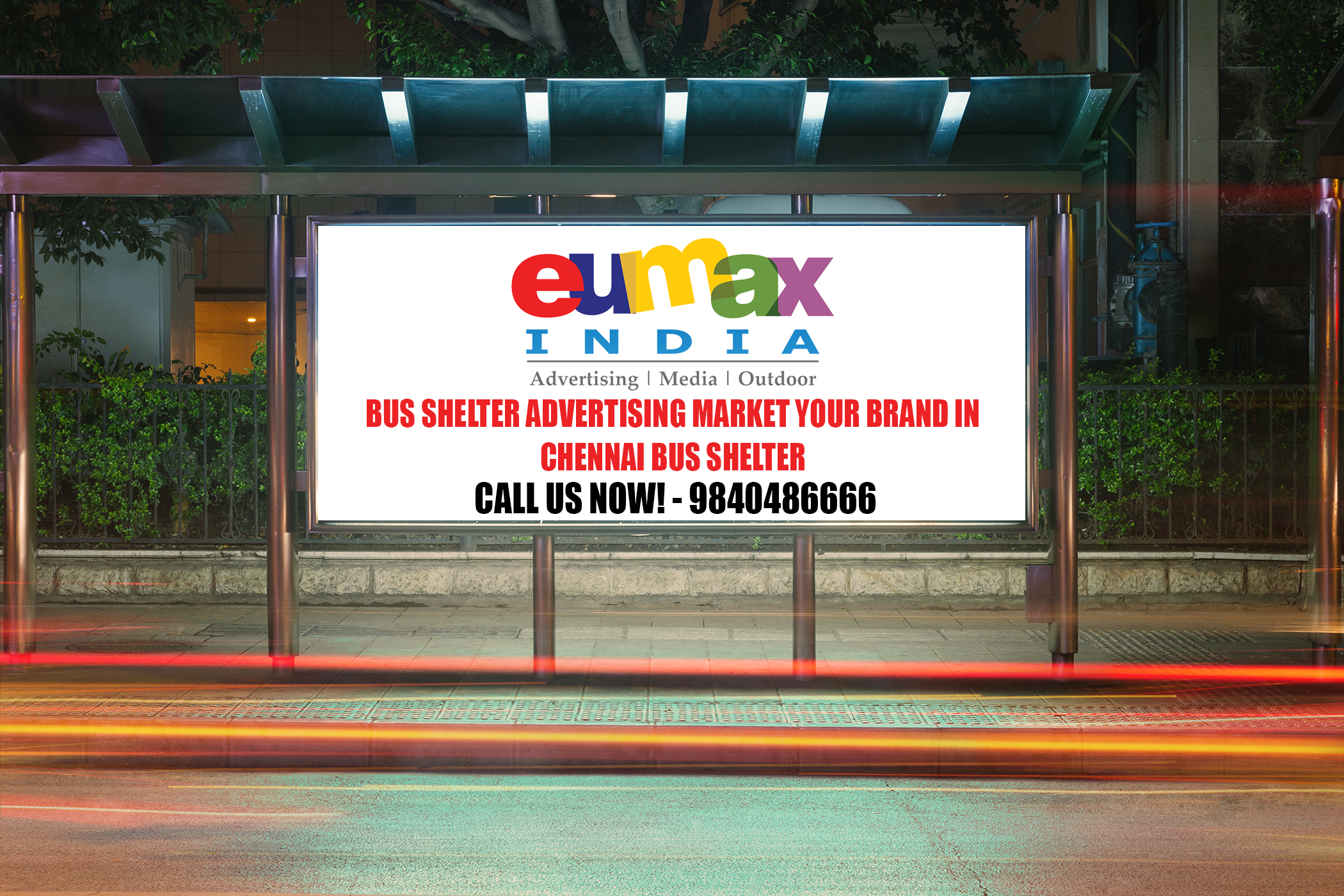 Bus Shelter Advertisement in Chennai | Bus Shelter Advertising in