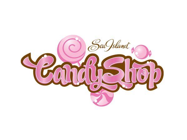 sea island candy shop logo on behance logos pinterest