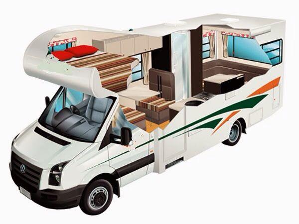 Motor Home Travellers Zhilye Pricepy Kempery Dom Na Kolesah
