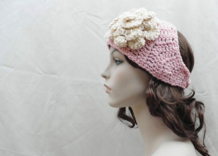 Lovely Crochet Head Scarf Patterns Styles Trendy Mods Crochet