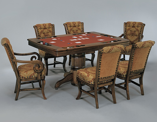 Game Tables Robertson Billiards Poker table and chairs