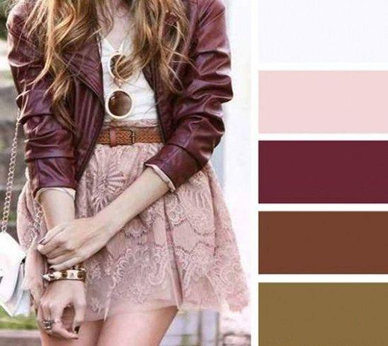 Como Combinar El Color Rosa Con Tonos Marrones Combinar Colores Ropa Como Combinar Colores Ropa Combinacion Colores Ropa