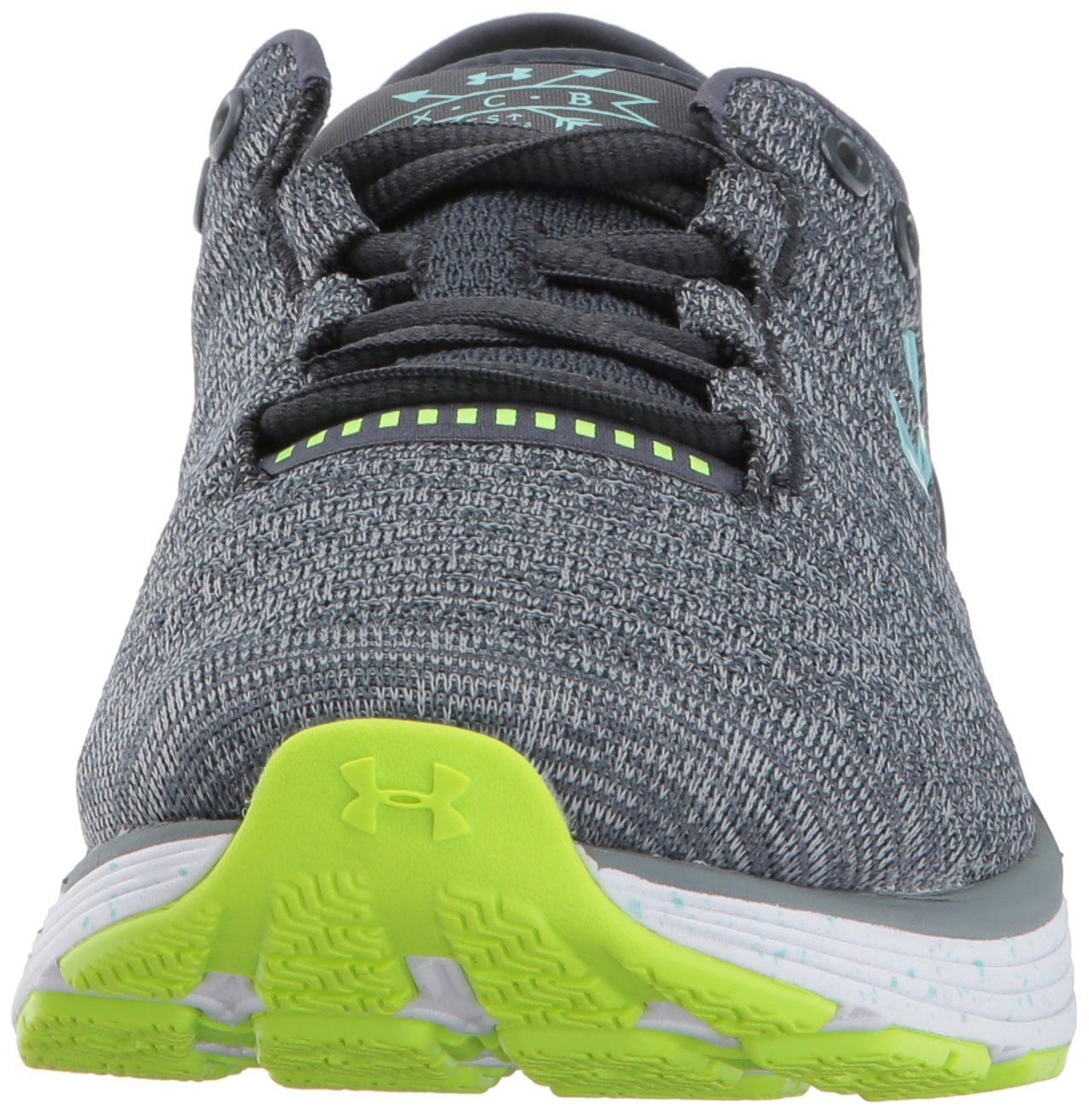 reputable site 397ce 5ea57 Under Armour Womens Charged Bandit 3 XCB Running Shoes Steel ...